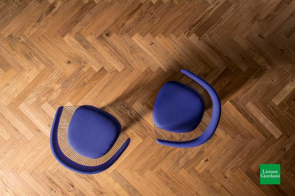Atelier Heritage 90 italienischer FIschgrät 90° Filigrana Fiesole 1125 gedämpfte Eiche oleonature