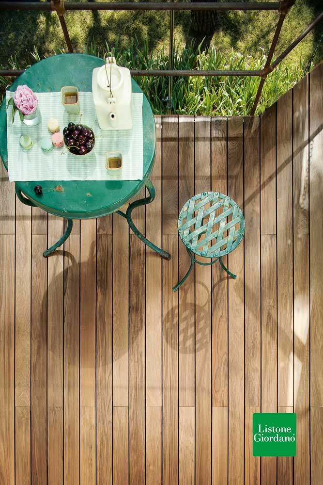 Outdoor Decking Teak 90 Kit 60, outnature geölt